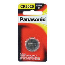 ถ่านกระดุมลิเธียม พานาโซนิค CR-2025PT/1B 3V แพ็ค 1