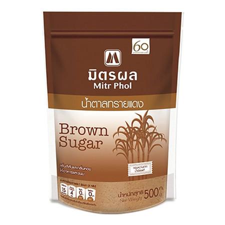 น้ำตาลทรายแดง มิตรผล ขนาด 500 กรัม (เฉาก๊วย)