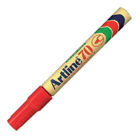ปากกาเคมี อาร์ทไลน์ EK-70 สีแดง