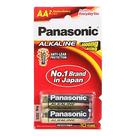 ถ่านอัลคาไลน์ พานาโซนิค LR6T/2B AA(แพ็ค 2 ก้อน)