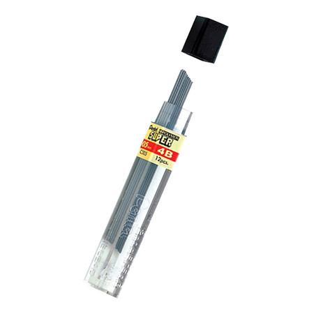 ไส้ดินสอกด เพนเทล ไฮโพลิเมอร์ C505 0.5 มม. 4B