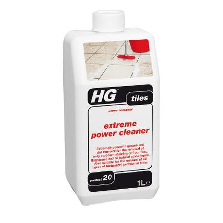 น้ำยาขจัดคราบฝุ่นฝังแน่นสูตรเข้มข้น สำหรับพื้นกระเบื้องและปูน HG 1000 มิลลิมิตร