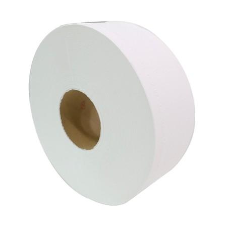 กระดาษชำระจัมโบ้โรล พีพลัส 1 ชั้น 600 ม กล่อง 12 ม้วน