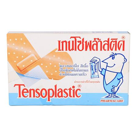พลาสเตอร์ยา เทนโซพล๊าส แบบพลาสติก(กล่อง 100 แผ่น)