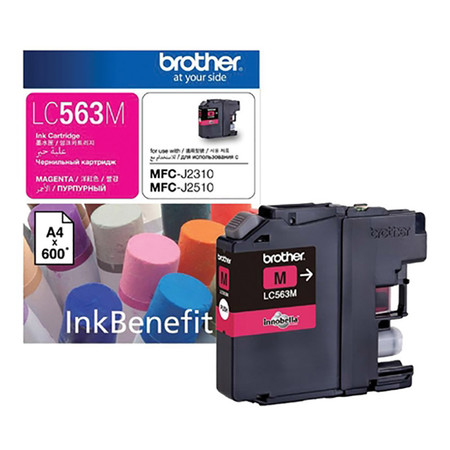INKJET CRTG BROTHER LC-563M