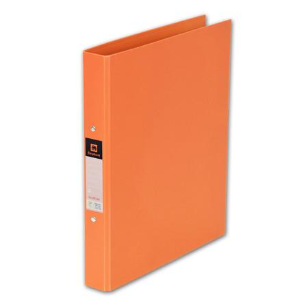 แฟ้ม 2 ห่วง ตราช้าง 221 A4 สัน 3.5 ซม. สีส้ม
