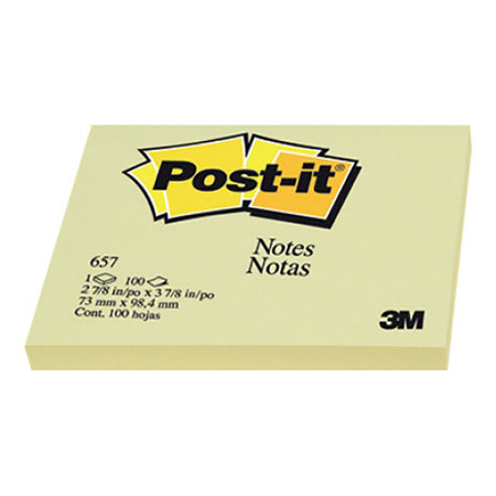Post-it 3M 657 3x4