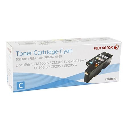 ตลับหมึกโทนเนอร์ FujiXerox CT201592 ฟ้า 1.4K