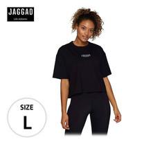 JAGGAD เสื้อครอป BLACK CORE CROP TEE ไซส์ L