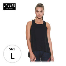 JAGGAD เสื้อกล้าม CENTRE PIECE DRAPED TANK PHANTOM ไซส์ L