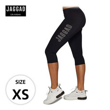 JAGGAD กางเกงเลกกิ้ง CLASSIC 3/4 PANEL LEGGINGS ไซส์ XS