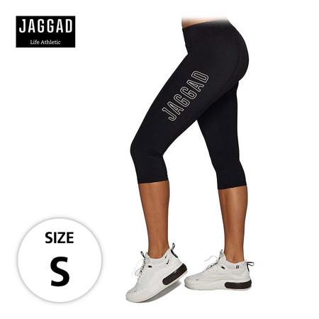 JAGGAD กางเกงเลกกิ้ง CLASSIC 3/4 PANEL LEGGINGS ไซส์ S