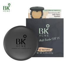 BK Acne Shimmer Matt Powder SPF35 #02 NATURAL