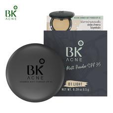 BK Acne Shimmer Matt Powder SPF35 #01 LIGHT