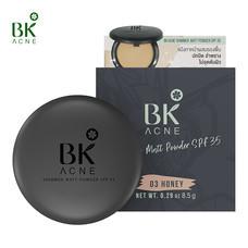 BK Acne Shimmer Matt Powder SPF35 #03 HONEY