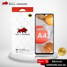 Bull ARmors ฟิล์มกระจก Samsung A42 5G (ซัมซุง) บูลอาเมอร์ ฟิล์มกันรอยมือถือ 9H+ ติดง่าย สัมผัสลื่น 6.6