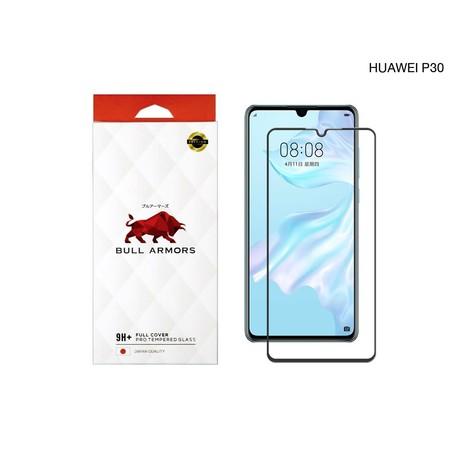 บูลอาเมอร์ กระจกกันรอย 9H+ แกร่ง เต็มจอ สัมผัสลื่น สำหรับ Huawei P30 (หัวเว่ย)