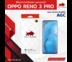 ฟิล์มกระจก OPPO Reno 3 Pro (ออปโป้) บูลอาเมอร์ ฟิล์มกันรอยมือถือ 9H+ ติดง่าย สัมผัสลื่น 6.4