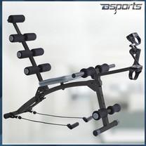 Bsports เครื่องออกกำลังกาย Six Pack Care New Plus (สีดำ/เทา)