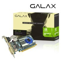 Galax GeForce® Graphics Card GT 710 1GB DDR3 64BIT