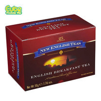 New English Tea English Breakfast Ceylon Black Tea 25Teabag 50G.