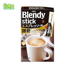 Agf Blendy Stick Espresso Coffee Aulait 10Pcs 85G.