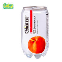 Glinter Softdrink Peach Flavour 350Ml. (Pack4)