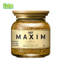 Agf Maxim Aroma Select Freeze Dried Coffee Bottle 80G.