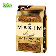 Agf Maxim Aroma Select Freeze Dried Coffee Bag 135G.