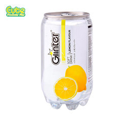 Glinter Softdrink Lemon Flavour 350Ml. (Pack4)