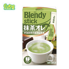 Agf Blendy Stick Matcha Aulait 10Pcs 84G.