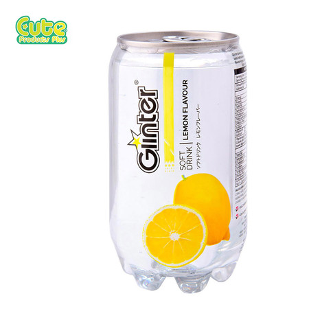 Glinter Softdrink Lemon Flavour 350Ml. (Pack4)
