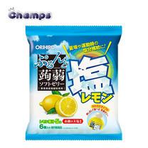 Orihiro Konjac Jelly Salty Lemon Pouch 120 g.