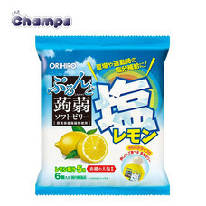 Orihiro Konjac Jelly Salty Lemon Pouch 120 g.