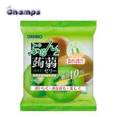 Orihiro Konjac Jelly Kiwi Pouch 120 g.