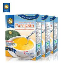 เลดี้แอนนา ซุป สูตรลดเกลือ รสฟักทอง Lady Anna Pumpkin Soup (3 กล่อง)