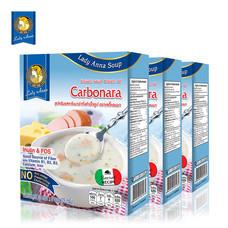 เลดี้แอนนา ซุป รสคาโบนาร่า Lady Anna Carbonara Soup (3 กล่อง)