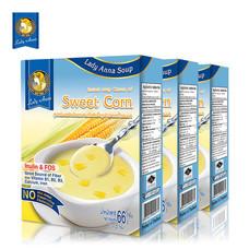 เลดี้แอนนา ซุป รสข้าวโพดหวาน Lady Anna Sweet Corn Soup (3 กล่อง)