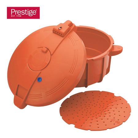 Prestige หม้ออัดแรงดันไมโครเวฟ ขนาด 2.2 ลิตร (47299-N) - สีส้ม