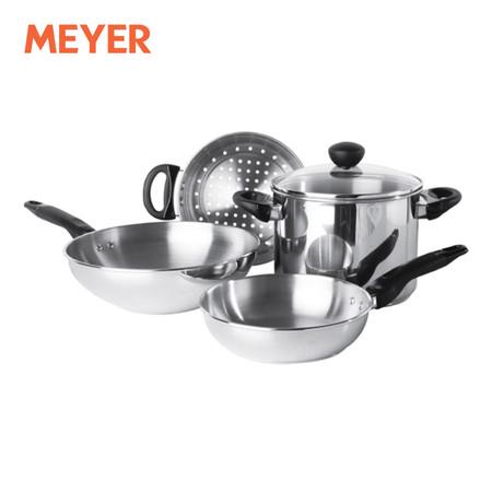 MEYER ชุดเครื่องครัว 5 ชิ้น (รวมฝา) รุ่น Cuisine (75399-T)
