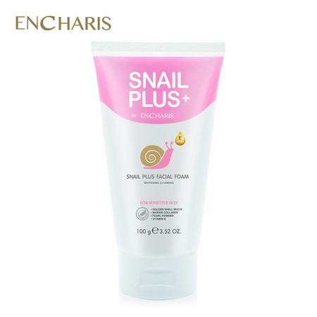 ENCHARIS SNAIL PLUS FACIAL FOAM 100G.