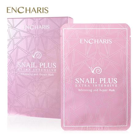 ENCHARIS SNAILPLUS WHITENING REPAIR MASK 25 G. (PACK 10)