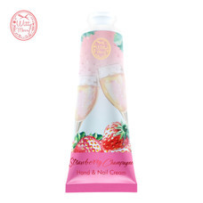 Witty Merry STRAWBERRY CHAMPAGNE HAND&NAIL CREAM 50 ก.