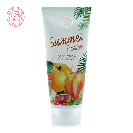 Witty Merry SUMMER PEACH BODY LOTION 200 มล.