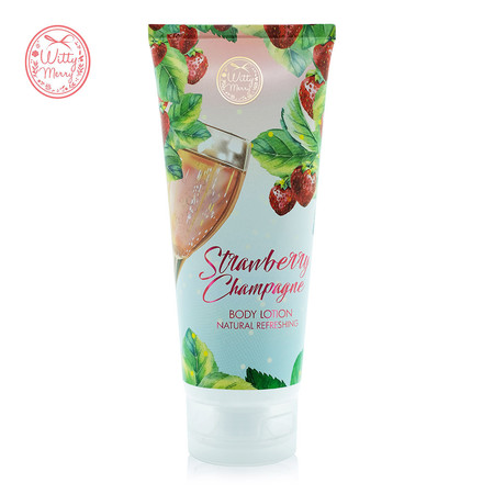 Witty Merry STRAWBERRY CHAMPAGNE BODY LOTION 200 มล.