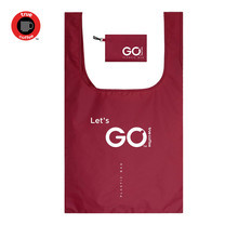 TrueCoffee x Plastic Bag official Size L - Red