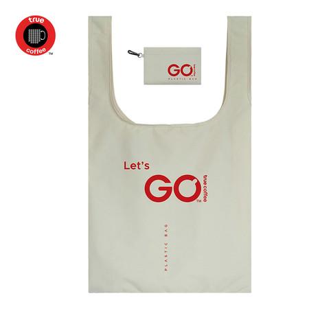 TrueCoffee x Plastic Bag official Size L - White