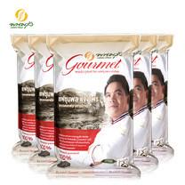 พนมรุ้ง กูร์เมต์ ข้าวหอมมะลิใหม่ 100% ขนาด 5 กก. จำนวน 5 ถุง **ส่งฟรีทั่วประเทศ**