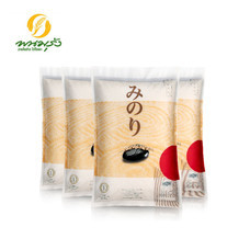 มิโนริ ข้าวญี่ปุ่นพันธุ์ซาซานิชิกิ 100% ขนาด 5 กก. จำนวน 4 ถุง  **ส่งฟรีทั่วประเทศ**