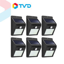 TV Direct Solar Light รุ่น 30 LED ไฟโซล่าส่องสว่าง 6 ชิ้น